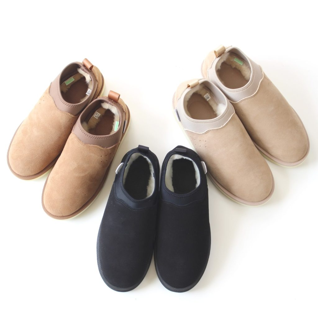 Desirable outdoor, stress-free and highly functional Mouton shoes from SUICOKE