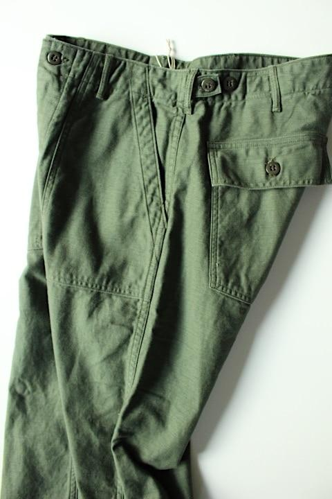 orslow fatigue pants slim type